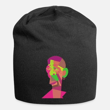 Online Visual arts of human face - Beanie