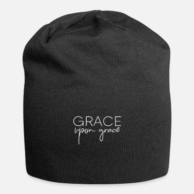 Kreuz Grace upon grace, Christian, Faith, Jesus, Faith - Beanie