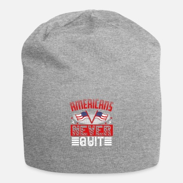 Patriot Day Americans Never Quit - Beanie