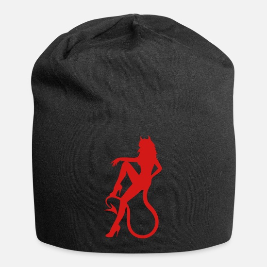 Carnival Caps - Devil Girl - Beanie black