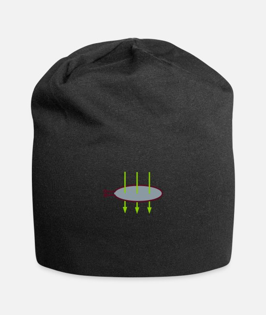 Play Caps & Hats - Conductor loop with magnetic field 1 - Beanie black