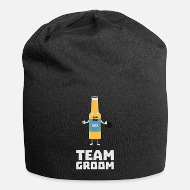Groom Team Groom Beerbottle Su77s - Beanie