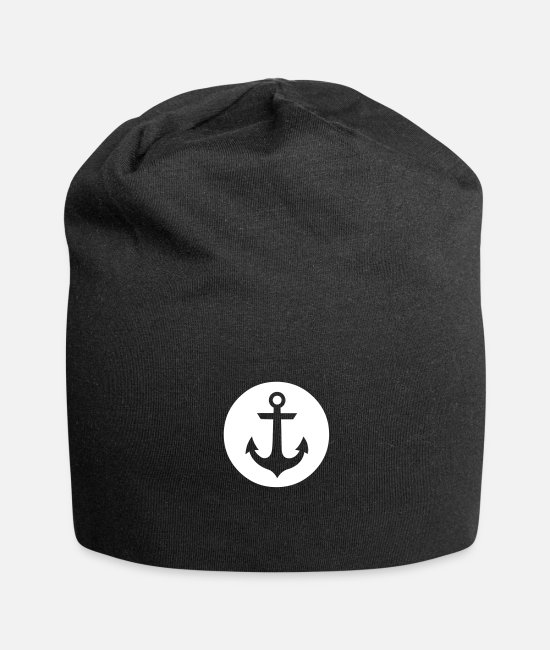 Anchor Caps & Hats - Anchor - Beanie black