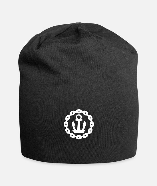 Skirt Caps & Hats - Chain Anchor - Beanie black