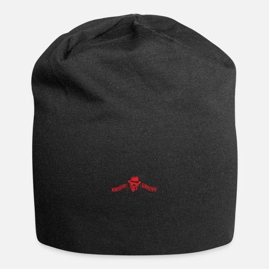 Lucky Caps - Never Fade Away Always Win - Beanie black