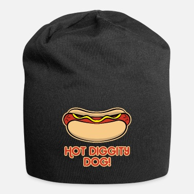 Fast Funny Fast Food Hot diggity Dog Woman Men Kid Gift - Beanie