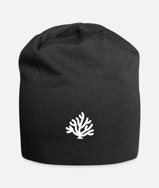Nature Caps & Hats - Underwater Plant Seagrass Plankton - Beanie black