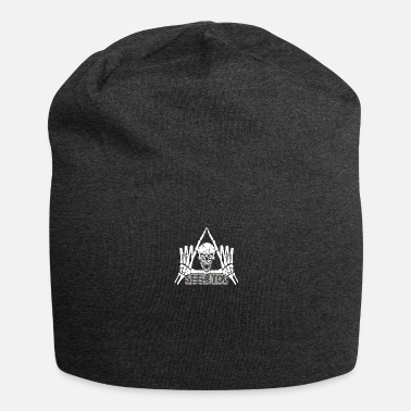 skull triangle see you quote - Beanie