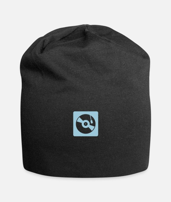Turn Table Caps & Hats - turntable mixer - Beanie black