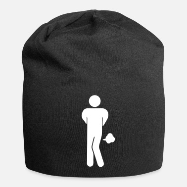 Funny Toilet Sign Funny Farting Restrooms / Toilet Sign 2 - Beanie