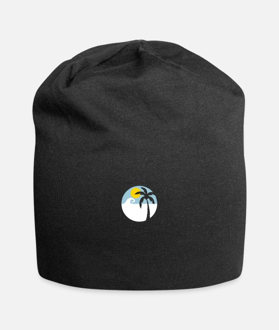 Venice Beach Caps & Hats - Vacation - Summer - Beach - Beanie black