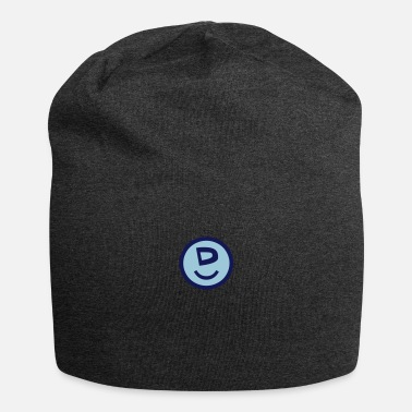 Happy Symbols Circles Smiley Quotes Philosophy ♥☺↷Happy Smiley Alphabet Initial Letter-D↶☺♥ - Beanie