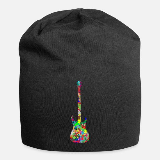 Art Caps - Modern Art Guitar - Beanie black