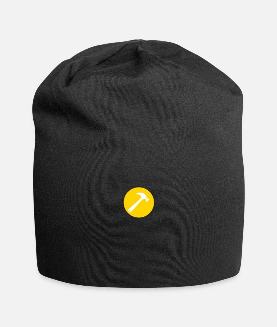 High Caps & Hats - Hammer Symbol - Beanie black