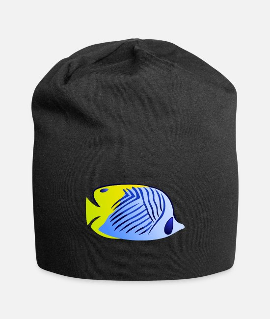 Fis Caps & Hats - Tropical Fish - Beanie black