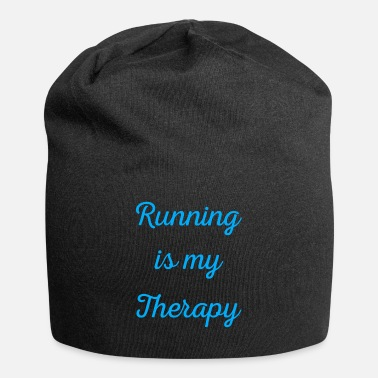Marathon Running is my therapy saying gift - Beanie