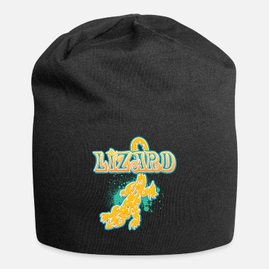 Lizard_with_text_29 - Beanie