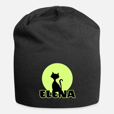 Name Day Elena Name day first name personal gift moonlight - Beanie