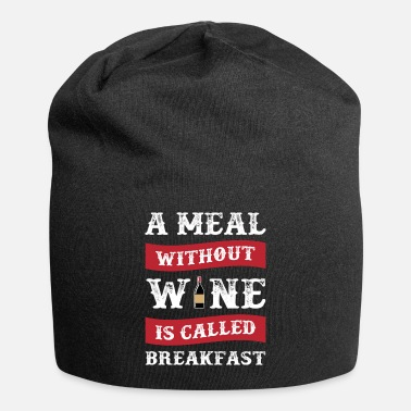 Meal A Meal Without Wine - Beanie