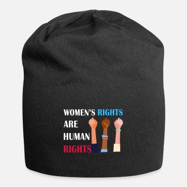 Right Women's rights are human rights - Beanie