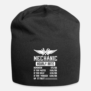 Mechanic Mechanic Hourly Rate - fun car repair - Beanie