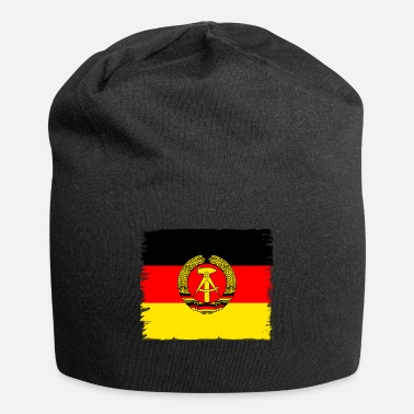 ddr germany east GDR flag retro wall emblem vintag - Beanie