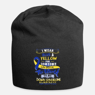 Down BLUE AND YELLOW DOWN SYNDROME - Beanie