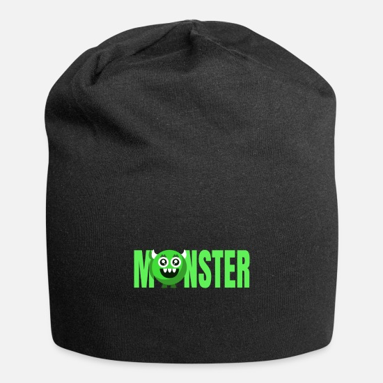 Birthday Caps - Monster - Beanie black