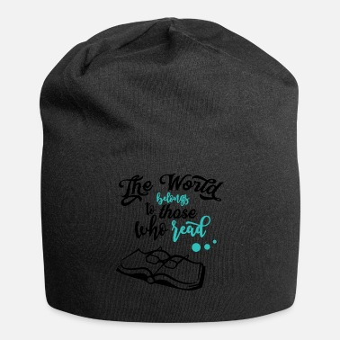 Read Book Lover The World Belongs to Those Who Read - Beanie