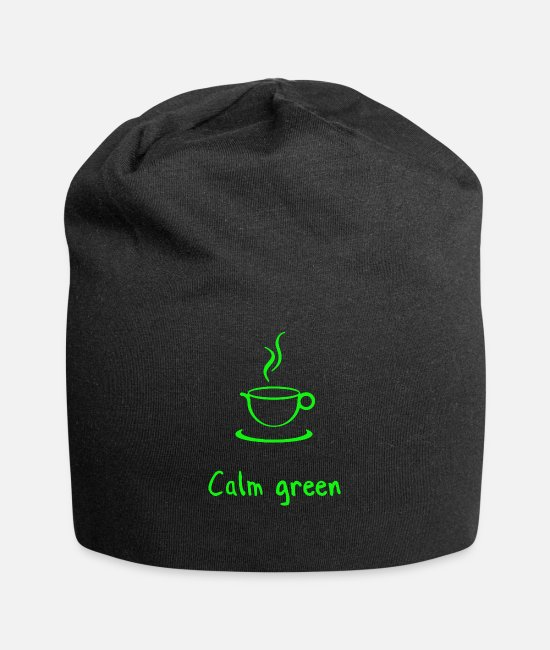 Calm Caps & Hats - Calm Down Calm Down - Beanie black