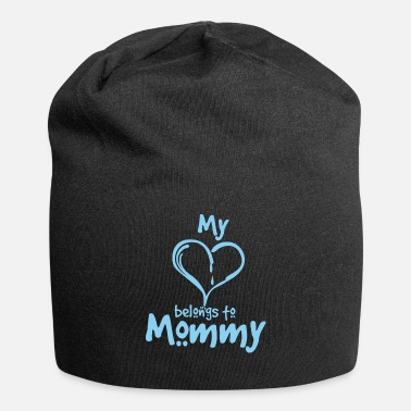 Grandchild Heart Mommy | Sweet Boy Child Kids Mother Mom - Beanie