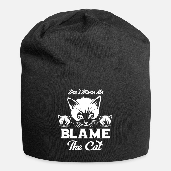 Easter Caps - Cat - Beanie black