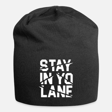 Brand Stay In Yo Lane Savage BBB Big Baller Brand Saying - Beanie