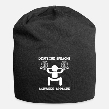 Language German language Heavy language Funny picture - Beanie