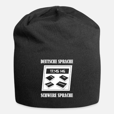 Language German language Heavy language Funny Libra - Beanie
