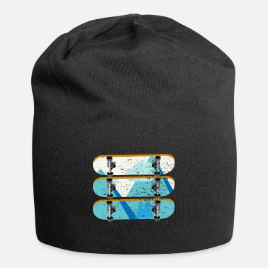 Skateboard Deck Skateboard Decks | Nature Mountains Skater Skating - Beanie