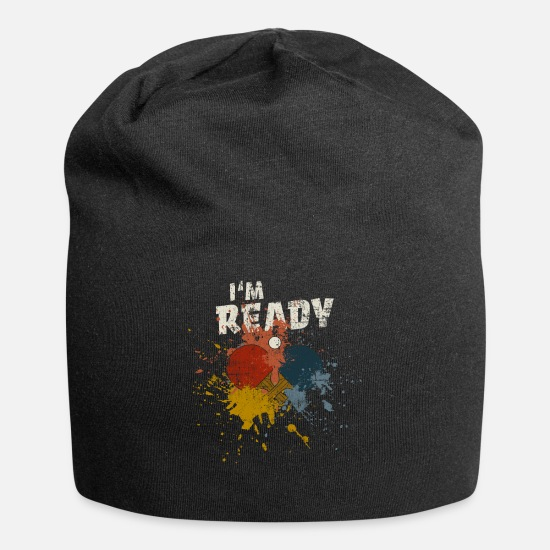 Gift Idea Caps - Ping Pong - Beanie black