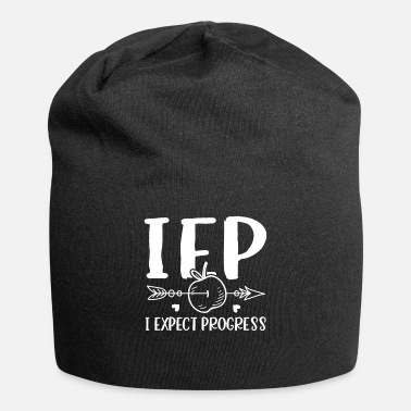 I Expect Progress IEP i expect progress school professor - Beanie