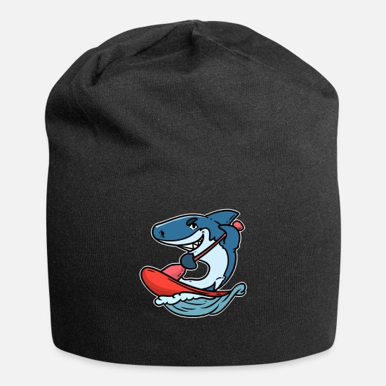 Water Caps - Stand paddling up sports water paddle gift lake - Beanie black