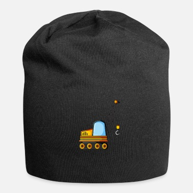 Site Construction Site Concrete Crane - Beanie