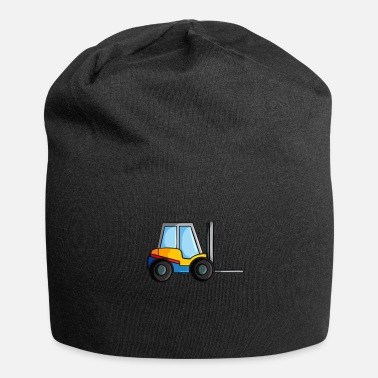 Site Construction Site Concrete Forklift - Beanie