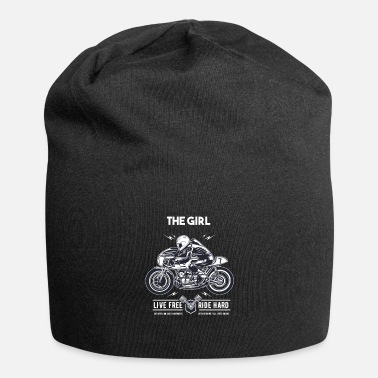 Motorcycle The girl Motorcycle Holidays Vacation - Beanie