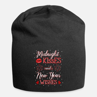 New Years Day Midnight Kisses And New Year Wishes - Beanie