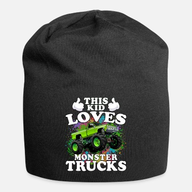 Monster This Kid Loves Monster Trucks - Beanie