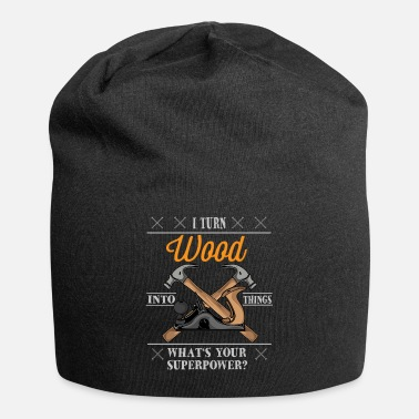 Carpentry Funny Woodworking Carpenter Gift - Beanie