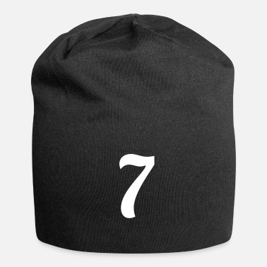 Jersey Number Lucky Number Seven - Beanie