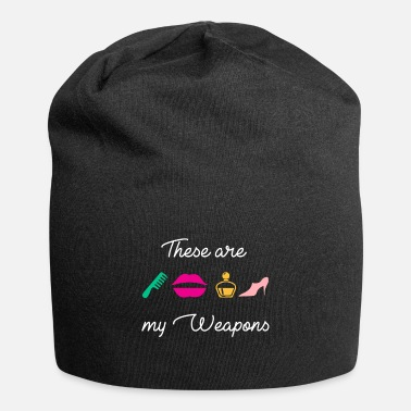 Highheels Weapons of a woman comb lipstick perfume highheel - Beanie