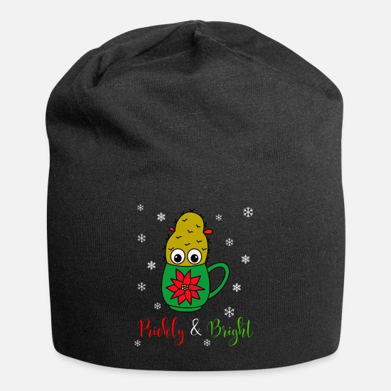 Cool Caps - Prickly And Bright - Small Christmas Cactus In - Beanie black