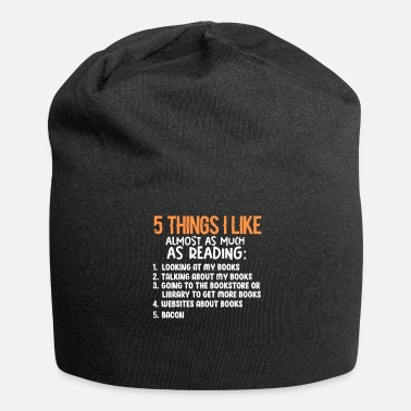 5 Things I Like As Much As Reading 5 Things I Like Almost As Much As Reading - Beanie