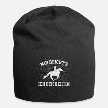 Equitation horse riding equitation rider female rider - Beanie